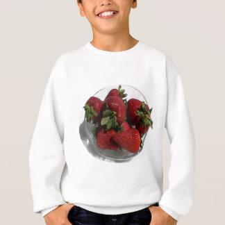 Jeder Lieben eine frische Schüssel Erdbeeren Sweatshirt