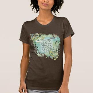 Jeder Tag ist das Geschenk des Gottes zu Ihnen, T-Shirt