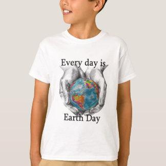 Jeder Tag ist Tag der Erde T-Shirt
