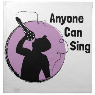 Jedermann kann singen serviette