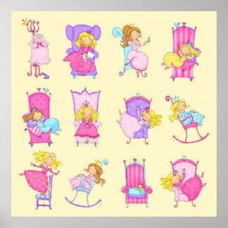 Jedes Mädchen ist eine Prinzessin Poster
