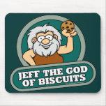 Jeff der Gott der Kekse Mousepad