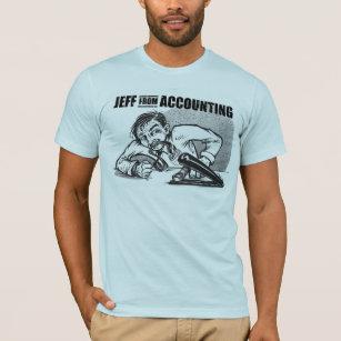 Jeff vom Buchhaltungs-T - Shirt