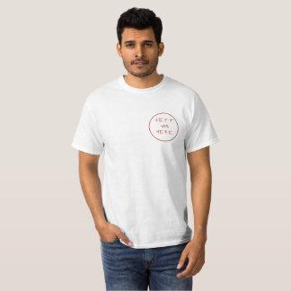 Jeff war hier Kreis T-Shirt
