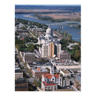Jefferson city postkarte