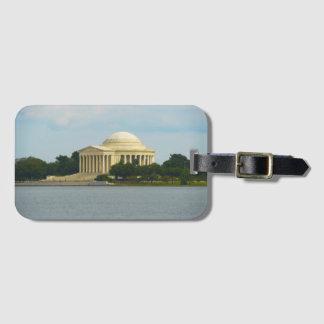 Jefferson-Denkmal im Washington DC Gepäckanhänger