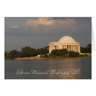 Jefferson-Denkmal Karte