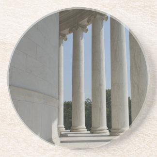 Jefferson Erinnerungswashington Sandstein Untersetzer