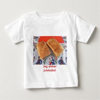 Jeg elsker julekake! baby t-shirt