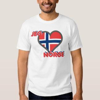 Jeg Elsker Norge (i-Liebe Norwegen) Tshirts