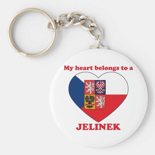 Jelinek Standard Runder Schlüsselanhänger