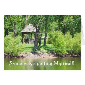 Jemand, das! verheiratet erhält! karte
