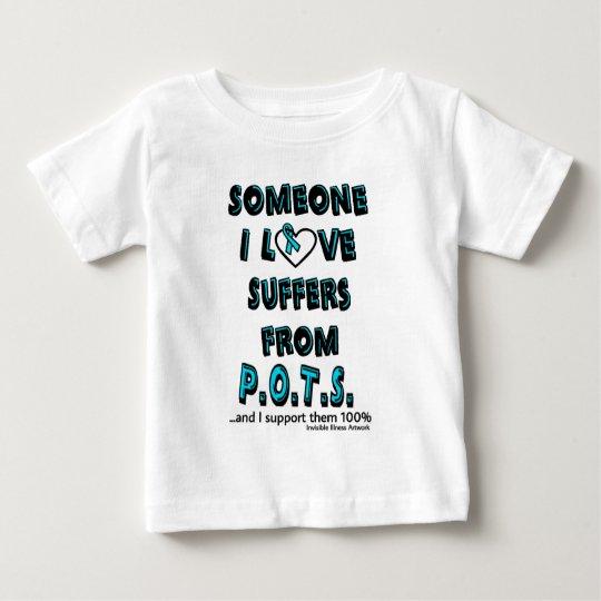 Jemand i-Liebe… P.O.T.S. Baby T-shirt