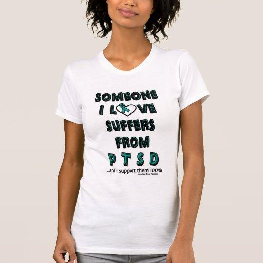 Jemand i-Liebe… PTSD T-Shirt