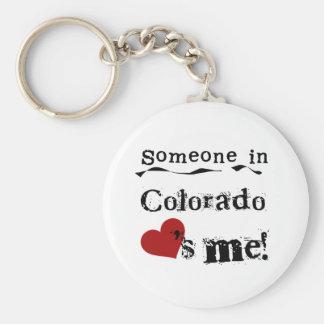 Jemand in Colorado-Lieben ich Schlüsselanhänger