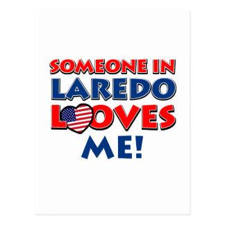 Jemand in Laredo-Lieben ich Postkarte