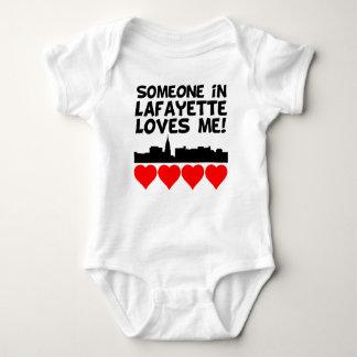 Jemand in Lieben Lafayettes Indiana ich Baby Strampler