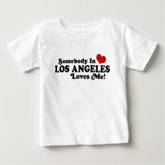 Jemand in Los- AngelesLieben ich Baby T-shirt