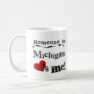 Jemand in Michigan-Lieben ich Kaffeetasse