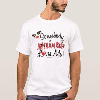 Jemand in Wechselstrom-Lieben ich T-Shirt