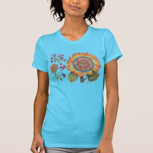 Jenna Sonnenblume-T-Stück T-Shirt