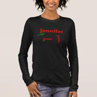 Jennifer-Shirt Langarm T-Shirt