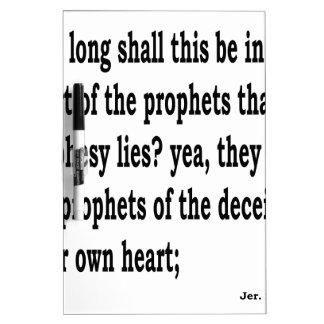 Jer. 23:26 memoboard