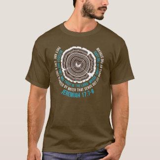 Jeremias-17:7 - 8 Baum-Ringe T-Shirt