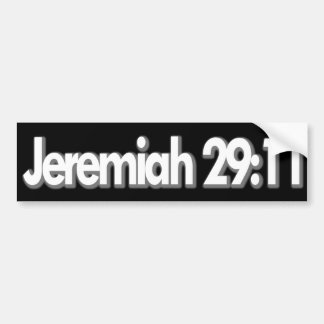 Jeremias-29:11 christlich autoaufkleber