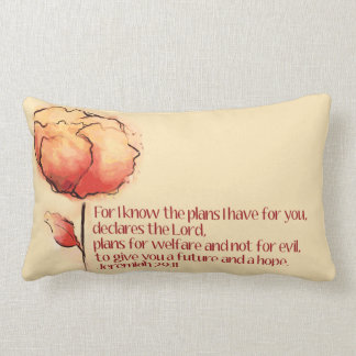 Jeremias-29:11 Kissen -- Für kenne mich die Pläne…