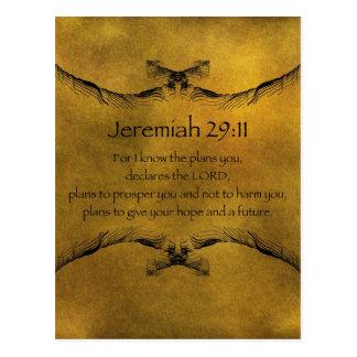 Jeremias-29:11 Postkarte