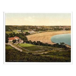 Jersey, Heiliges Brelades Bucht, Kanal-Insel, Postkarte