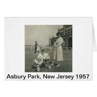 Jersey-Ufer Mitteilungskarte
