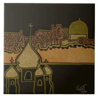 Jerusalem Große Quadratische Fliese