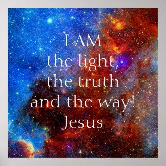 Jesus Christus bin ich Poster