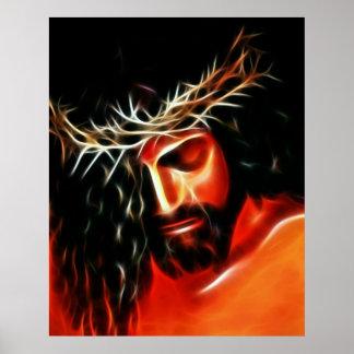 Jesus Christus, der für Sie schreit Poster