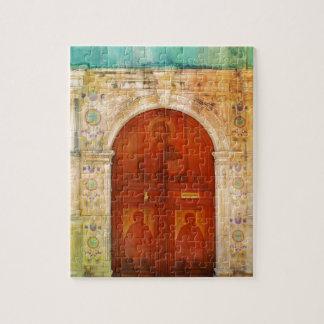 Jesus Christus-Ikonen-Tür-griechisches orthodoxes