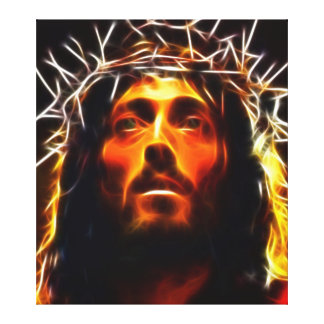 Jesus Christus-Kreuzigung Leinwanddruck