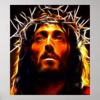 Jesus Christus-Kreuzigung Poster