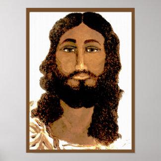 Jesus Christus. Malen/Druck Poster