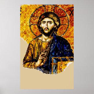 Jesus Christus, Pantocreator Poster