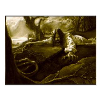 Jesus Christus-Qual im Garten von Gethsemane Postkarte
