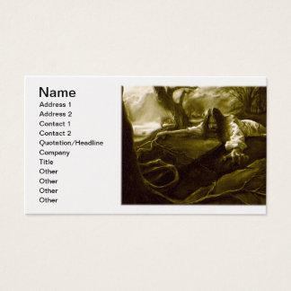 Jesus Christus-Qual im Garten von Gethsemane Visitenkarte