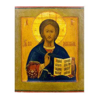 Jesus Christus-Russe-Ikone Acryl Wandkunst