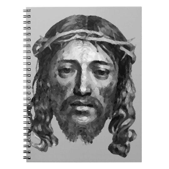 JESUS CHRISTUS SPIRAL NOTIZBLOCK