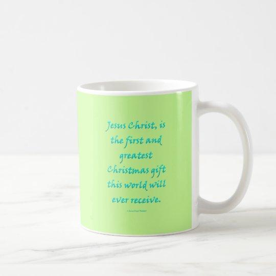 Jesus Christus, Weihnachtsgeschenk Kaffeetasse