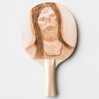 Jesus im Licht Tischtennis Schläger