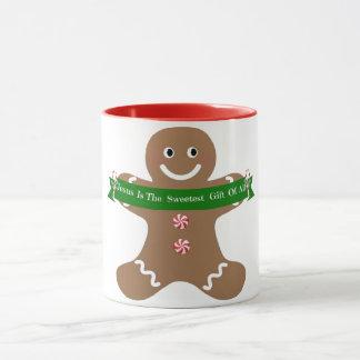 Jesus ist der süßeste Geschenk-Lebkuchen 11 Tasse
