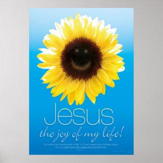 JESUS IST MEINE FREUDE - christliche religiöse Poster
