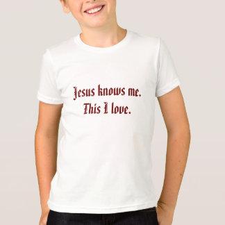 Jesus-Lieben ich Lied-inspirierter T - Shirt für